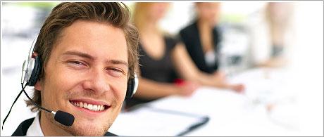 A 24-7 customer care service