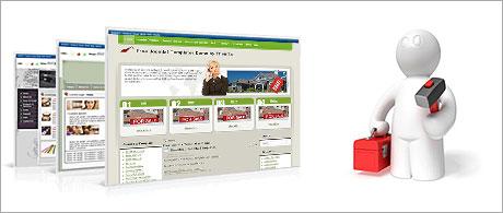 A quick web site installer
